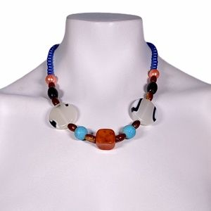 NWT Small Multicolor Beaded Necklace